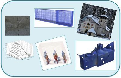 Du comportement du matériau au calcul de structures GC