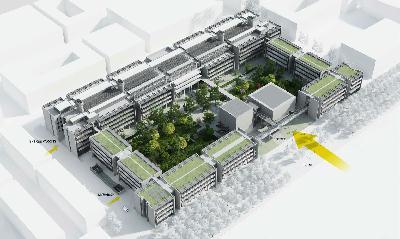Vue d'ensemble du projet ENS Paris-Saclay
