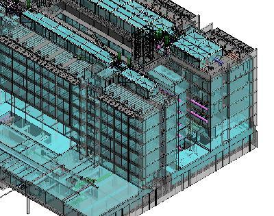 Modèle utilisé lors de la conception du bâtiment