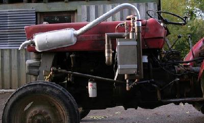 Un tracteur