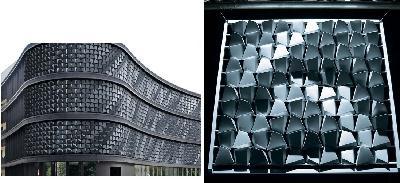 Flare - façade dynamique