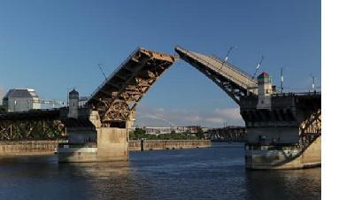 Exemple de pont mobile