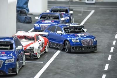 Compétition Audi Voiture Autonome Miniature